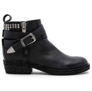 Dolce Vita Joey Moto studded buckle ankle boots
